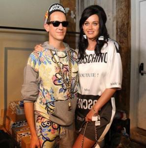 Jeremy Scott, Katy Perry at Moschino