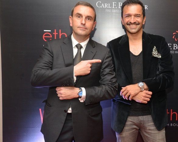 carl f bucherer l;aunch of pathos at palladium hotel Jerome Riff, Atul Kasbekar