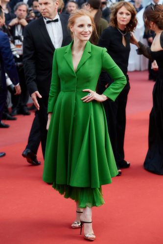 Jessica Chastain in Christian Dior Couture