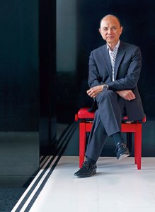 Jimmy Choo: Balancing elevation with grounding