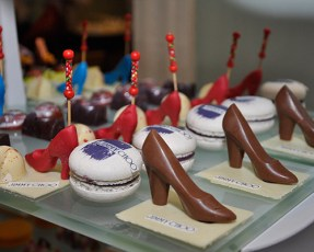 Choo-shaped treats