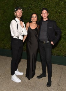 Jimmy Giannopoulos, Zoe Kravitz, James Levy