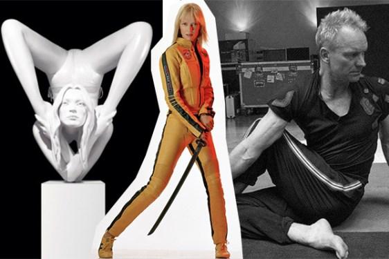Kate Moss, Uma Thurman, Sting
