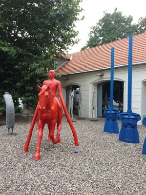 Installation at the Kampa Museum