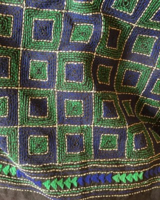 Kantha embroidery from Bengal