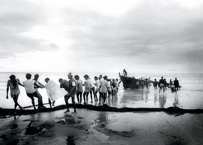 Baga Beach, Goa #3; silver gelatin print; 1982