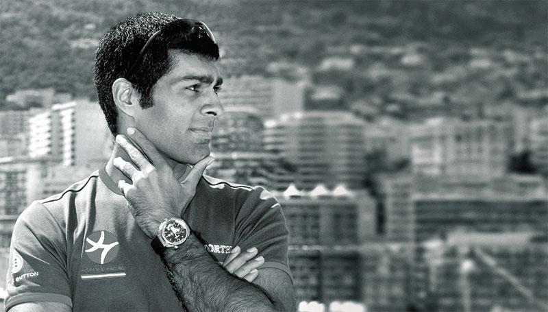 Karun Chandhok, Formula 1 Racer