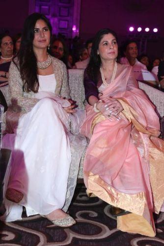 Katrina Kaif and Verve's Anuradha Mahindra