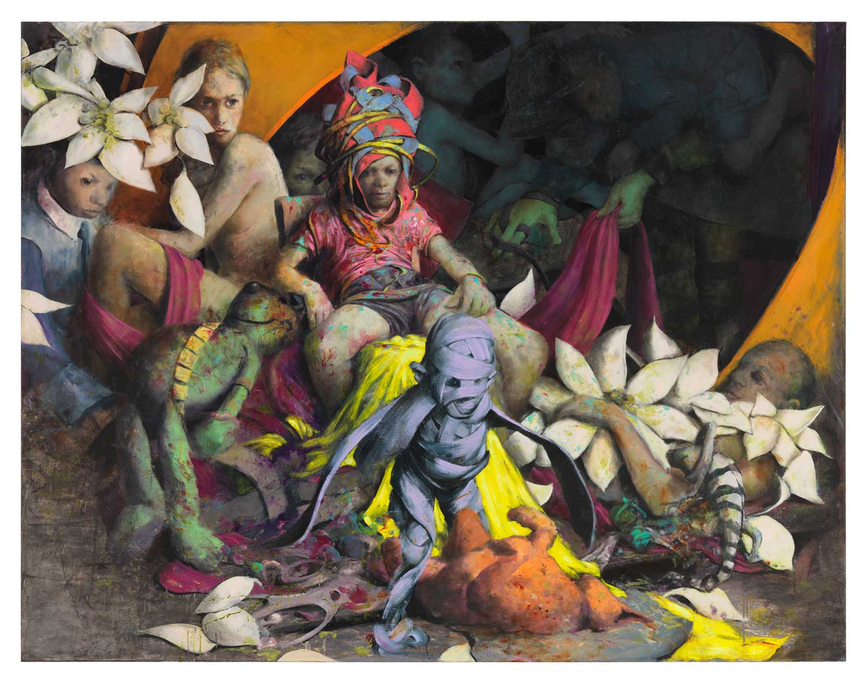 Kleinlos, Schlier, Jonas Burgert, German artist