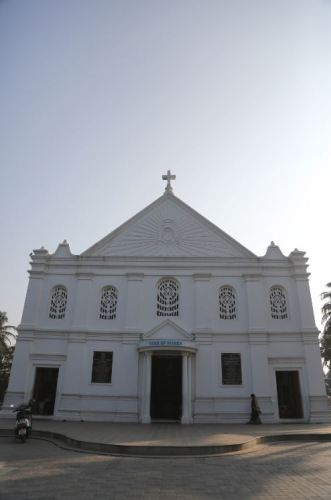 Our Lady of Mount Carmel Church in Ernakulam. Built in the late 17th Century