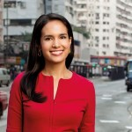 Kristie Lu Stout, American journalist and news anchor for CNN International, News Stream, On China