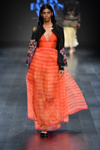 Rahul Mishra at Lotus Makeup India Fashion Week Spring/Summer '19