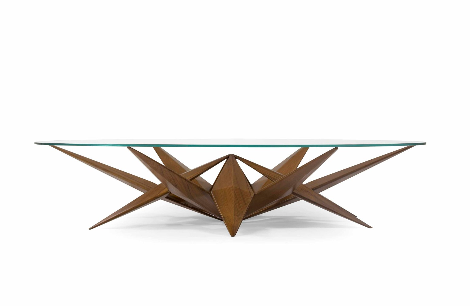 Symmetry takes centerstage with the Lotus Table