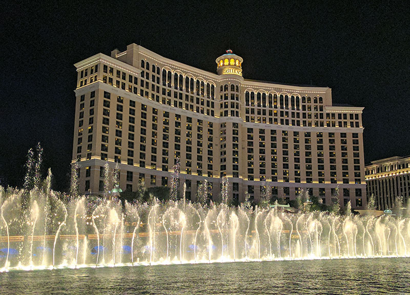 The Fountains at Bellagio Las Vegas