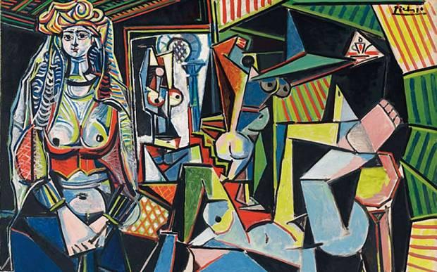 Les Femmes d'Alger (Version 'O'), by Pablo Picasso