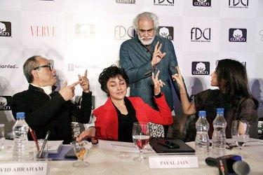 David Abraham, Payal Jain, Sunil Sethi and Rina Dhaka