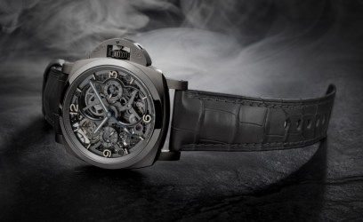 Lo Scienziato – Luminor 1950 Tourbillon GMT Titanio