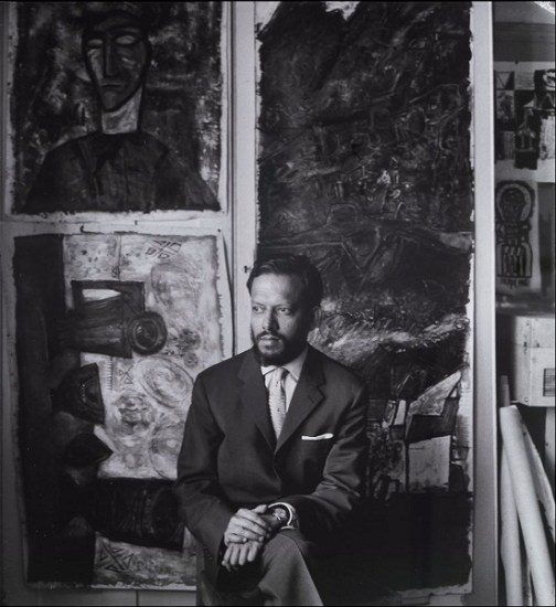 Ida Kar, Portrait of Francis Newton Souza, 1961
