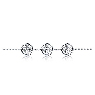 Louis Vuitton Diamond Blossom BB bracelet with diamonds in 18-carat white gold