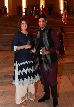 Lubna Adams, Manish Malhotra