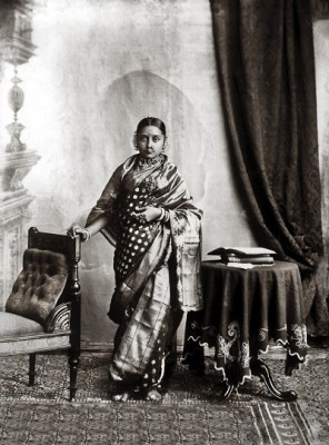 Maharani Chimnabai II of Baroda, née Shrimant Gajrabai Ghatge of Dewas Sr