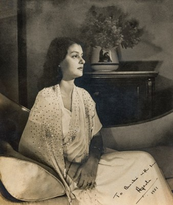 Maharani Gayatri Devi of Jaipur, née Princess Ayesha of Cooch Behar