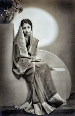 Maharani Vijaya Raje Scindia of Gwalior, née Lekha Divyeshwari Devi.