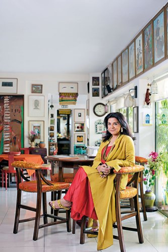 Manisha Gera Baswani: surrounded by art