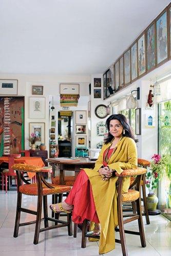 Manisha Gera Baswani: surrounded by art
