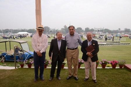 Manvendra Singh, Jean Todt, Ratan Tata, Sir Michael Kadoorie