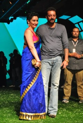 Manyata and Sanjay Dutt