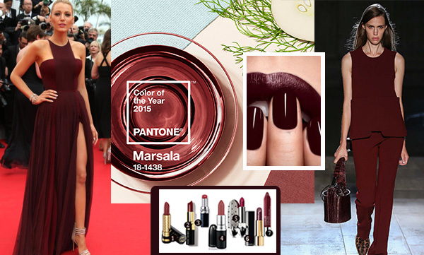 Marsala featured pantone shade of the year How to wear marsla fashion and style guide beauty products