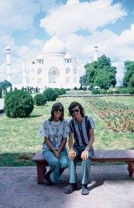1972, Taj Mahal, India