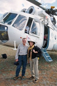 2007, Russian helicopter, Mongolia