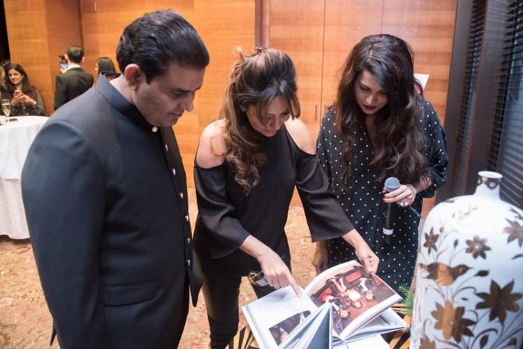 Ajay Chaudhary, Gauri Khan, Sadia Siddiqui