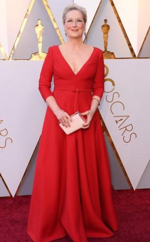 Meryl Streep in Christian Dior Haute Couture