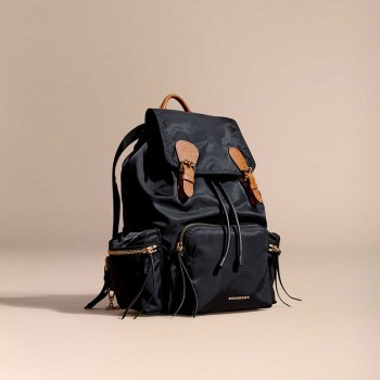 Monogrammable rucksack from Burberry