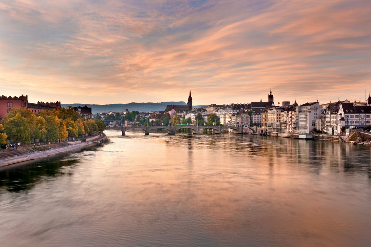 Rhine River, Basel, Switzerland , Travel