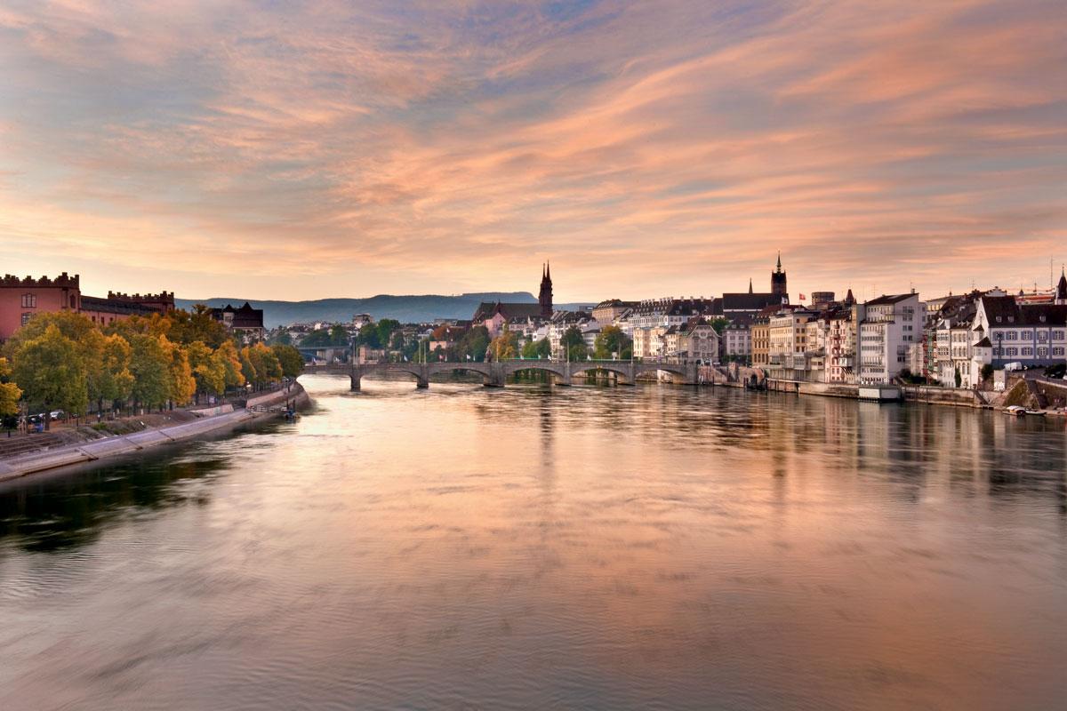Rhine River, Basel, Switzerland , Travel