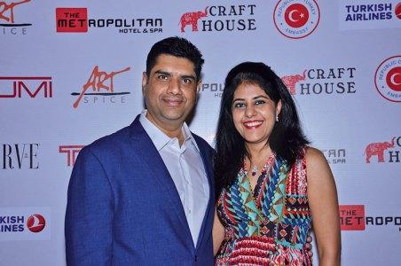 Vipul Gupta, Monisha Gupta