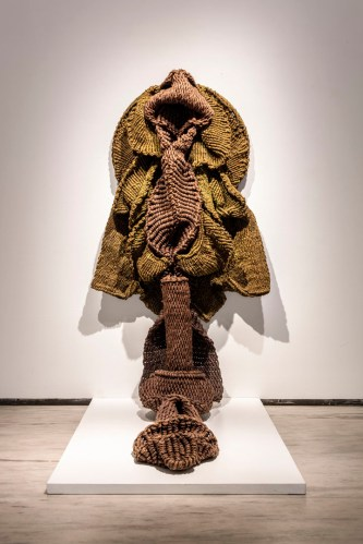 Mrinalini Mukherjee's sculptures