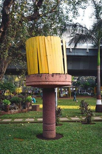 Maheshwari Udyan, a public park in Matunga