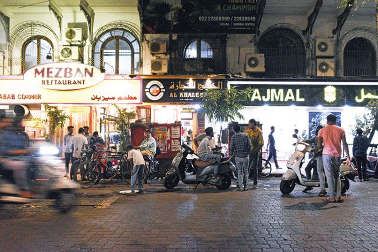 Kamal Mansion, Arthur Bunder Road, where Voodoo was once situated