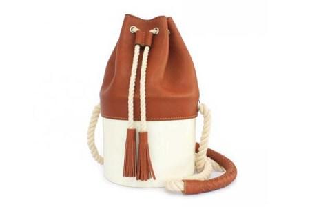 Nappa Dori Nordic Round Ivory bag
