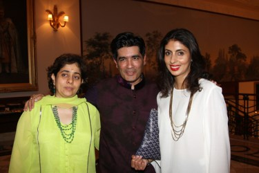Natasha Nanda, Manish Malhotra, Shweta Nanda