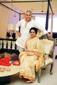 Navin Ansal and Raseel Gujral Ansal