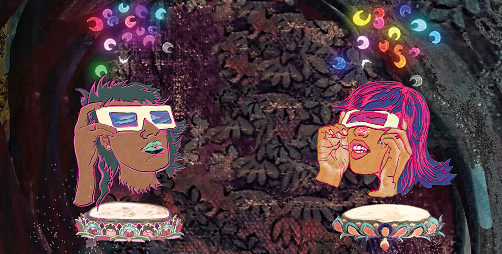 Chitra Ganesh, Rainbow Body (still), 2018, digital animation, New York