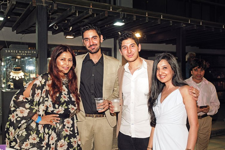 Nisha Jamvwal, Vedant Ahluwalia, Sidhant Ahluwalia, Amy Billimoria