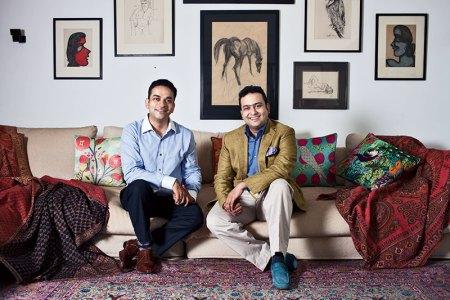 Nishant and Dhruv Chandra
