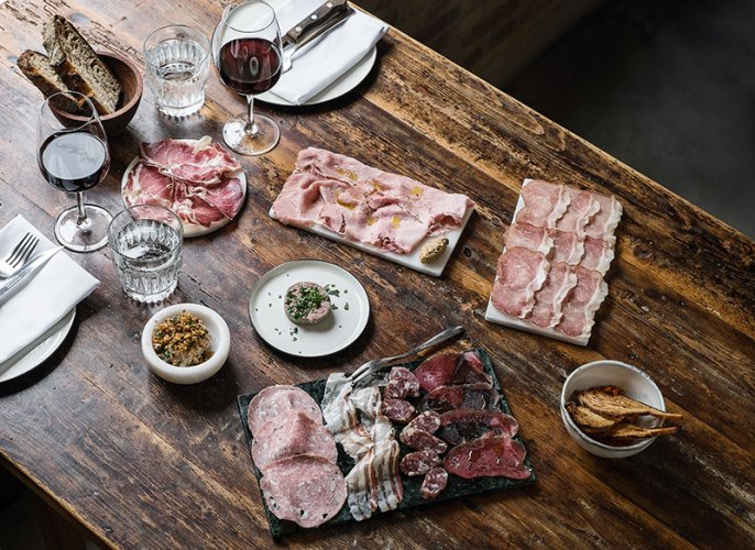 House-made Organic Charcuterie at Baest. Photograph by P. A. Jorgensen